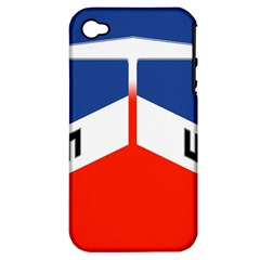 Donohue Racing Apple Iphone 4/4s Hardshell Case (pc+silicone)