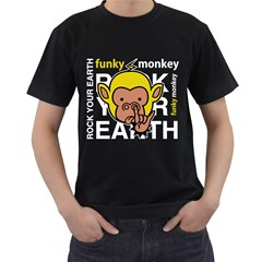 Rock Your Earth Black T Shirt