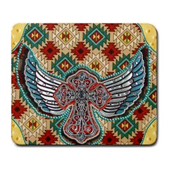 South West Leather Look Large Mouse Pad (Rectangle)