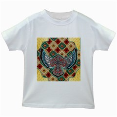 South West Leather Look White Kids'' T-shirt