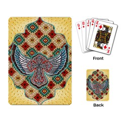 South West Leather Look Standard Playing Cards
