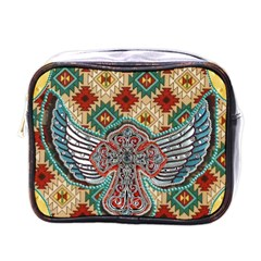 South West Leather Look Single-sided Cosmetic Case