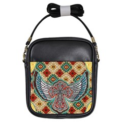 South West Leather Look Kids  Sling Bag