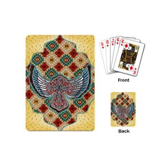 South West Leather Look Playing Cards (mini)