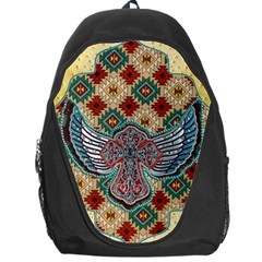 South West Leather Look Backpack Bag