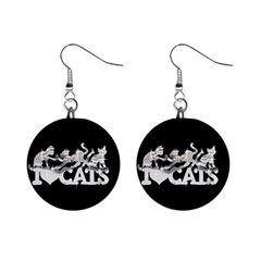 Catz Mini Button Earrings