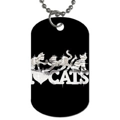 Catz Single-sided Dog Tag