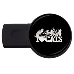 Catz 1Gb USB Flash Drive (Round)