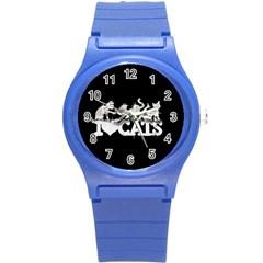 Catz Round Plastic Sport Watch Small