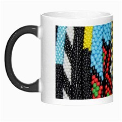 Multi Colored Beaded Background Morph Mug