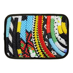 Multi-Colored Beaded Background 10  Netbook Case