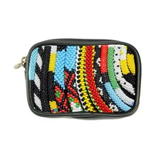 Multi Colored Beaded Background Ultra Compact Camera Case