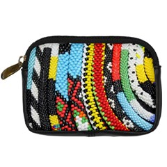 Multi Colored Beaded Background Compact Camera Case