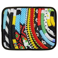 Multi-Colored Beaded Background 15  Netbook Case