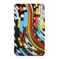 Multi Colored Beaded Background Card Reader (rectangle)