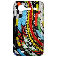 Multi-Colored Beaded Background HTC Incredible S Hardshell Case