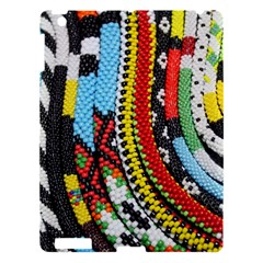 Multi-Colored Beaded Background Apple iPad 3/4 Hardshell Case