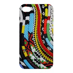 Multi-Colored Beaded Background Apple iPhone 4/4S Premium Hardshell Case