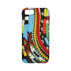 Multi-Colored Beaded Background Apple iPhone 5 Classic Hardshell Case (PC+Silicone)