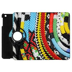 Multi Colored Beaded Background Apple Ipad Mini Flip 360 Case