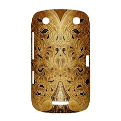 Golden Brown Tooled Faux Leather Look BlackBerry Curve 9380 Hardshell Case