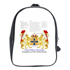 King Willem Large School Backpack