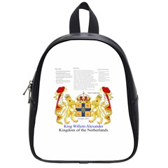 King Willem Small School Backpack