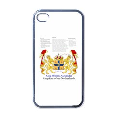 King Willem Black Apple Iphone 4 Case
