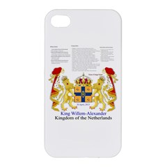 King Willem Apple iPhone 4/4S Hardshell Case