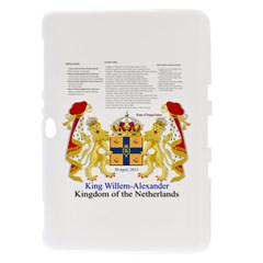 King Willem Samsung Galaxy Tab 8.9  P7300 Hardshell Case