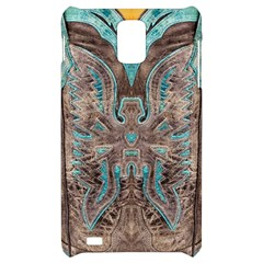 Turquoise and Gray Western Leather Look Samsung Infuse 4G Hardshell Case