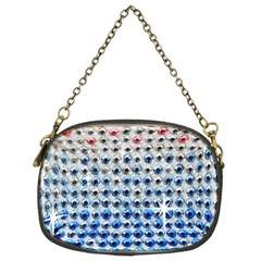 Rainbow Colored Bling Twin-sided Evening Purse