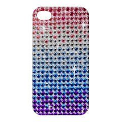 Rainbow Colored Bling Apple iPhone 4/4S Hardshell Case
