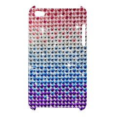 Rainbow Colored Bling Apple iPod Touch 4G Hardshell Case