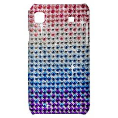 Rainbow Colored Bling Samsung Galaxy S i9000 Hardshell Case
