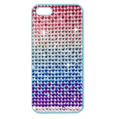 Rainbow Colored Bling Apple Seamless Iphone 5 Case (color)