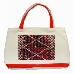 Red Glitter Bling Red Tote Bag
