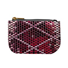 Red Glitter Bling Coin Change Purse