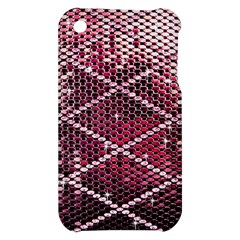 Red Glitter Bling Apple iPhone 3G/3GS Hardshell Case