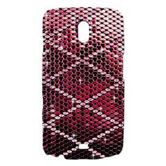 Red Glitter Bling Samsung Galaxy Nexus i9250 Hardshell Case