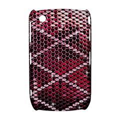 Red Glitter Bling BlackBerry Curve 8520 9300 Hardshell Case