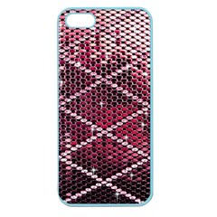 Red Glitter Bling Apple Seamless Iphone 5 Case (color)