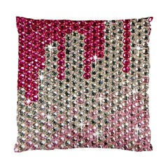 Mauve Gradient Rhinestones  Twin-sided Cushion Case