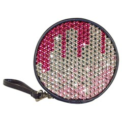 Mauve Gradient Rhinestones  CD Wallet
