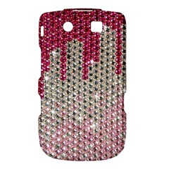 Mauve Gradient Rhinestones  BlackBerry Torch 9800 9810 Hardshell Case