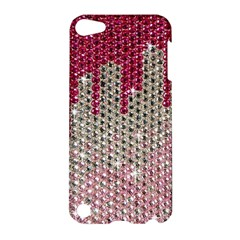 Mauve Gradient Rhinestones  Apple Ipod Touch 5 Hardshell Case