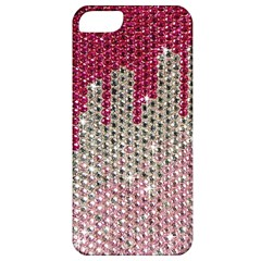 Mauve Gradient Rhinestones  Apple iPhone 5 Classic Hardshell Case