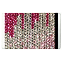 Mauve Gradient Rhinestones  Apple iPad 3/4 Flip Case