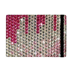 Mauve Gradient Rhinestones  Apple iPad Mini Flip Case