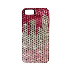 Mauve Gradient Rhinestones  Apple iPhone 5 Classic Hardshell Case (PC+Silicone)